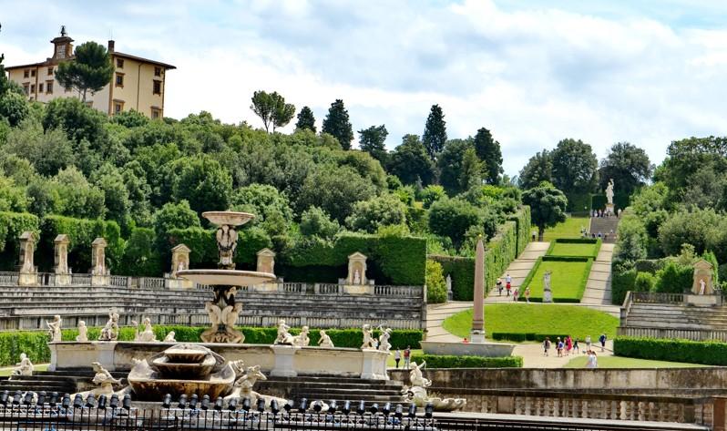 Zahrady Boboli, Itálie