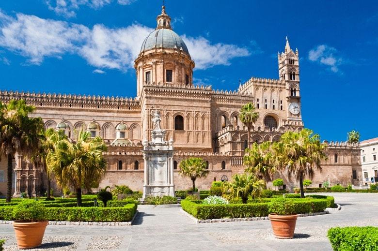 katedrála, Palermo, Sicílie, Itálie