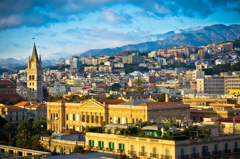 staré město, messina, Sicílie